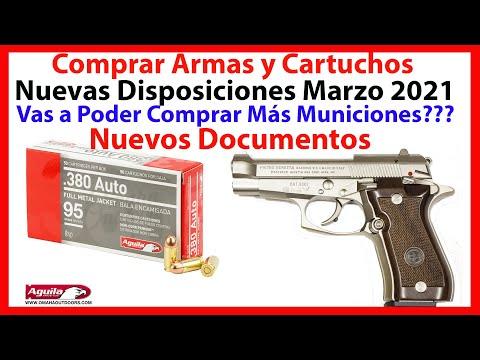 SEDENA México - Compra de Armas y Cartuchos - Nuevas Disposiciones Mayo 2021