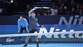 Highlights: Novak Djokovic Beats John Isner Nitto ATP Finals 2018 Round-robin