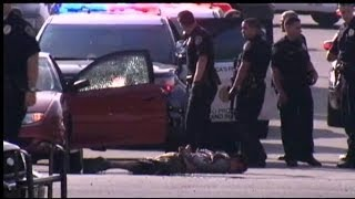 San Diego Police Shootout Caught on Tape