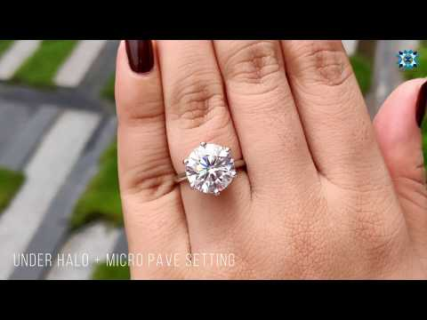 5.49-tcw-round-colorless-moissanite-ring-|-micro-pave-setting-ring-|-under-halo-ring-|-gold-ring