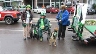 2010 Scranton And Wilkes-barre Pa. St. Patrick's Day Parades.wmv