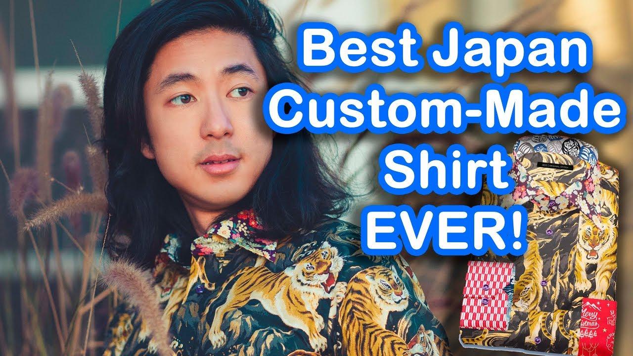Best Japan Custom-Made Shirt Ever!