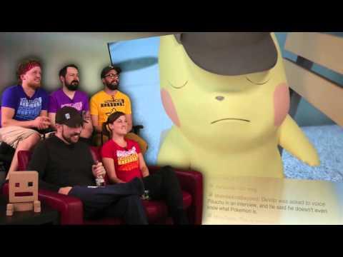 Great Detective Pikachu Trailer Featuring Danny DeVito!
