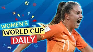Martens double sees the Oranje through   Women's World Cup Daily
