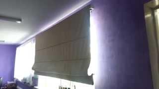 Римские шторы с электроприводом Somfy(, 2013-07-11T08:42:20.000Z)