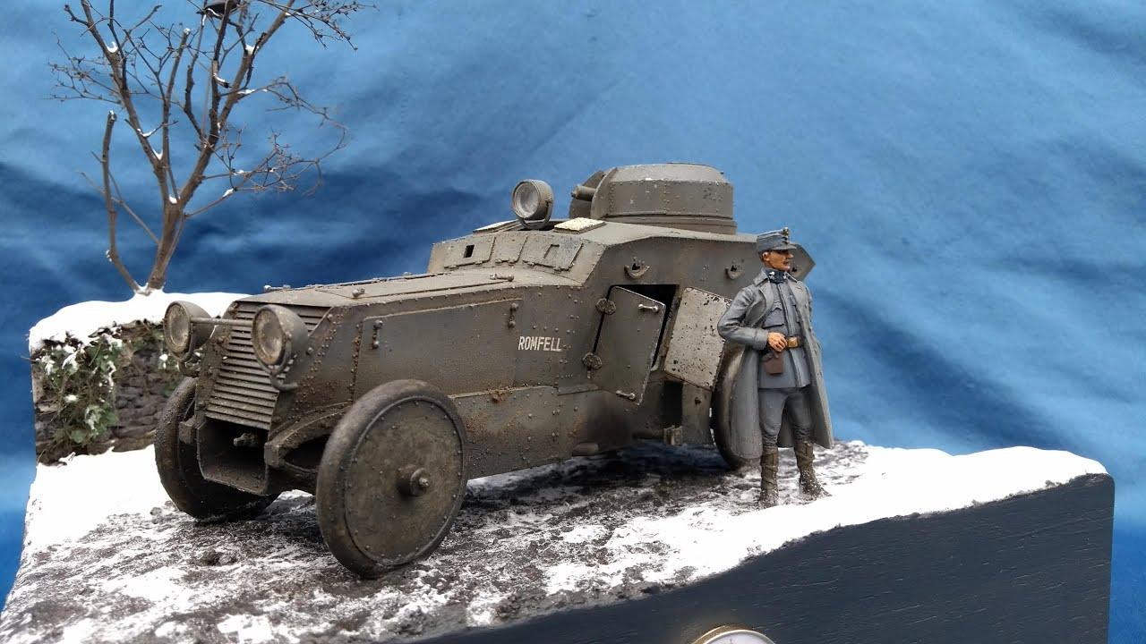 Romfell Panzerwagen in 1//35 von CSM