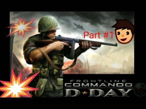 Pucamo Njemce u WW2 !!!  PART-1 (FRONTLINE COMMANDER D-DAY)