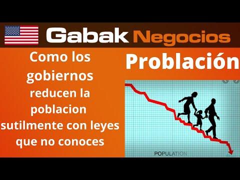 Cómo hacen los Gobiernos para reducir la Población.