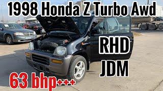 Here why 1998 Honda z awd turbo rhd is weird to drive || Pham's Legend