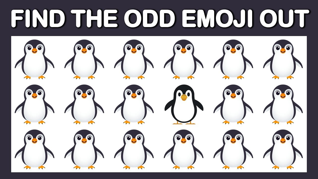 HOW GOOD ARE YOUR EYES #145 l Find The Odd Emoji Out l Emoji Puzzle Quiz