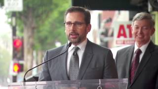 Steve Carell Hollywood Walk of Fame Star Ceremony with Will Ferrell - The Big Short