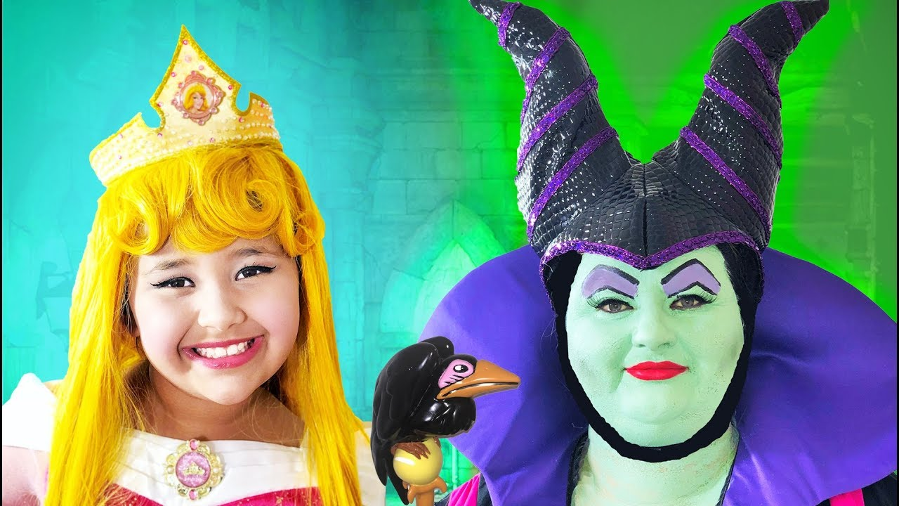 Disney Sleeping Beauty And Maleficent Makeup Halloween Costumes And Toys