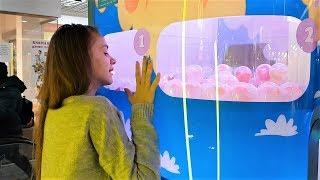 LIFE VLOG: Режем Игрушки/ Супер Лизун в Игровом Автомате/ Челлендж в Торговом Центре!