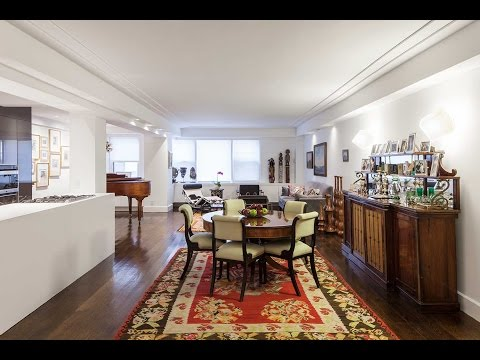 1025 Fifth Avenue Apartment  - before and after