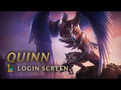 Quinn, Demacia's Wings | Login Screen - League of Legends