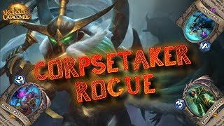 CONTINUANO I TEST POST NERF!! CORPSETAKER ROGUE (HEARTHSTONE ITA)