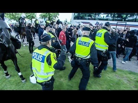 FOTBOLLSHULIGANER ATTACKERAR POLISEN!  | STORYTIME