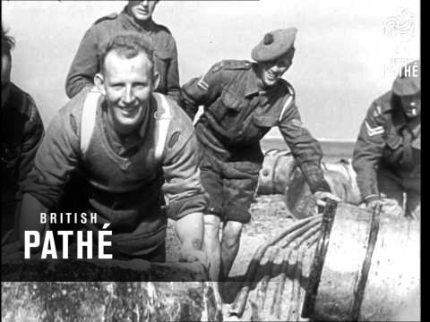 Troops Unloading Landing Craft (1943)