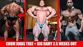 Bumstead Brings the Chrismas Tree + Big Ramy 2.5 Weeks Out + @Bhuwan Chauhan Men's Physique Star