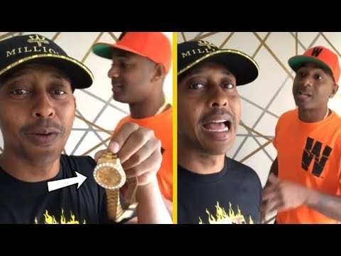 Gillie Da Kid Want His Cousin's Jewelry To Be Tested!