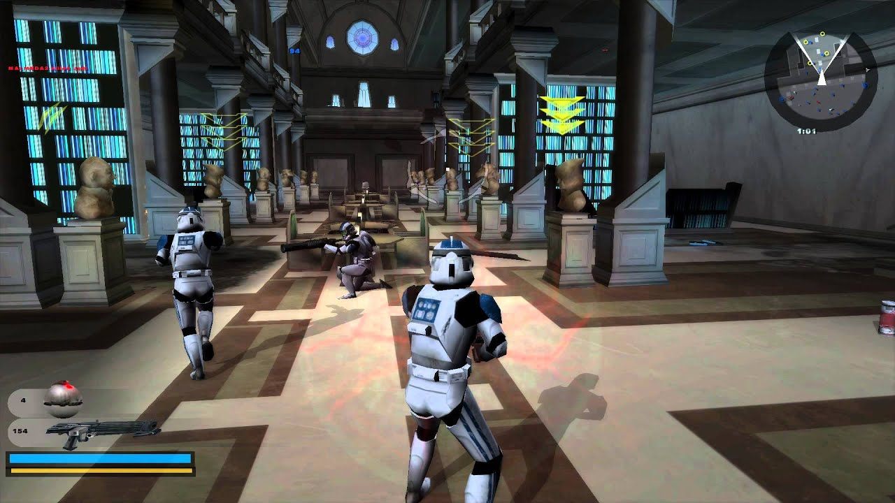star wars battlefront 2 gameplay 5 coruscant knightfall