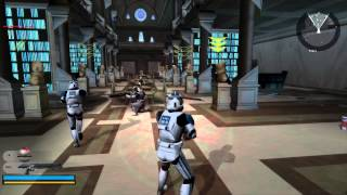 Star Wars Battlefront 2 Gameplay 5 Coruscant - Knightfall ( Jedi temple order 66 )