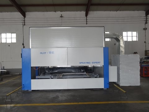 Spray painting machine Painting car accessories