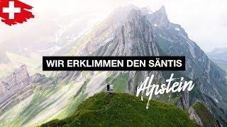 Wir Wandern Auf Den Säntis 🇨🇭⛰ Gratwanderung Im Appenzell