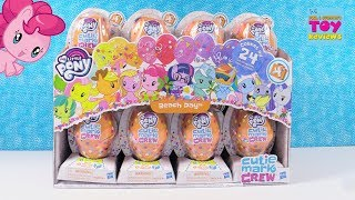 My Little Pony Beach Day Series 4 Cutie Mark Crew Toy Opening | PSToyReviews