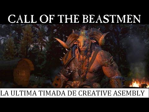 "DLC ""CALL OF THE BEASTMEN"" - La ultima timada de Creative Asembly #TOTALWARWARHAMMER |"