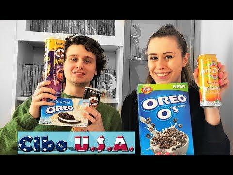 Assaggiamo snack americani da Cibo Usa