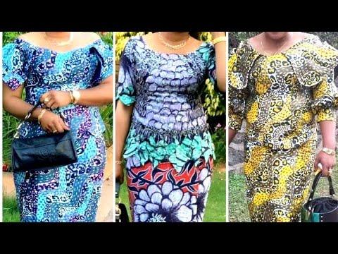 Congolese fashion style.ankara fashion style.admirez les Modèles en pagnes