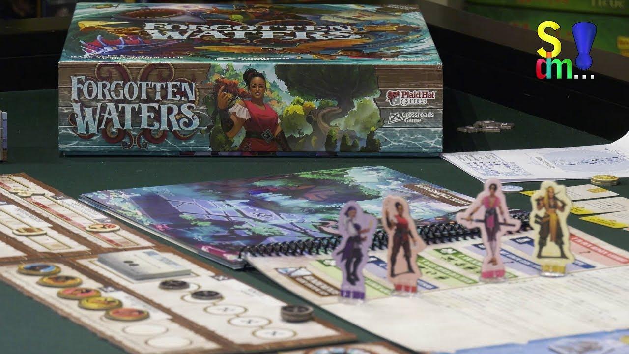 Spiel doch mal FORGOTTEN WATERS! - Brettspiel Rezension Meinung Test #362