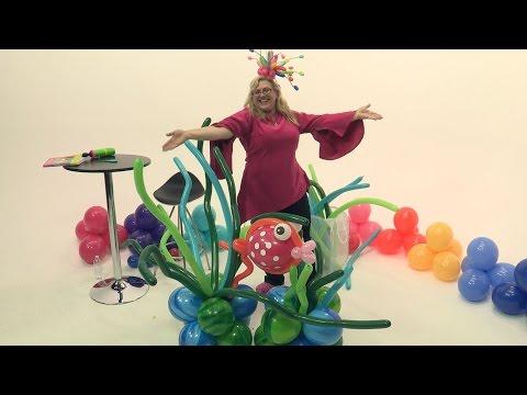 How To Make Balloon Seaweed Islands