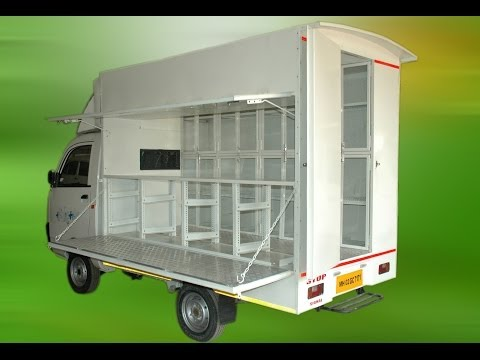 Vegetable/Grocery Van Customization - Sanva Motors Pvt Ltd™