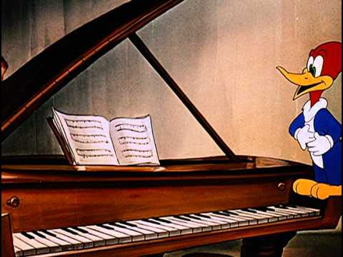 """Frederic Chopin - """"Musical Moments"""" Woody Woodpecker 1947"""