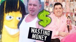 5 DUMBEST WAYS PEOPLE SPENT MONEY thumbnail