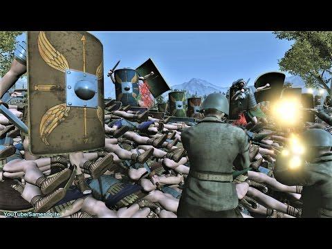 300 US Marines vs 12000 Romans Siege Epic Battle Simulator