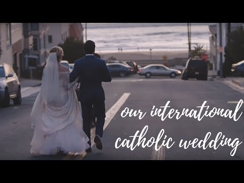 Our International Catholic Wedding  Emily Wilson and Daniël Hussem