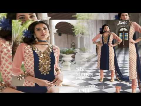 Designer Salwar Suits latest fashion collection | latest fashion in pakistan winter collection