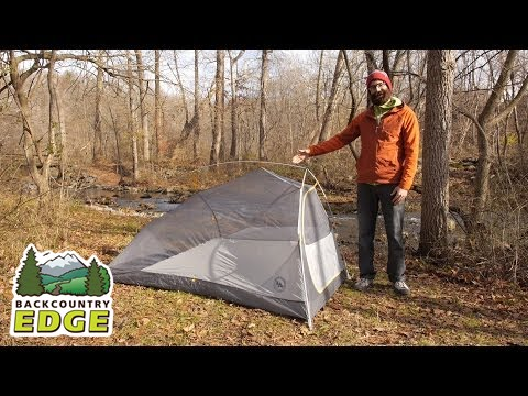 Big Agnes Fly Creek HV UL 2 mtnGlO Tent & Big Agnes Fly Creek HV UL 2 mtnGlO Tent - YouTube