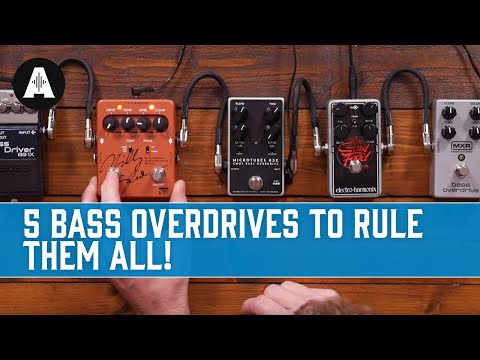 5 Bass Overdrives to Rule Them All!