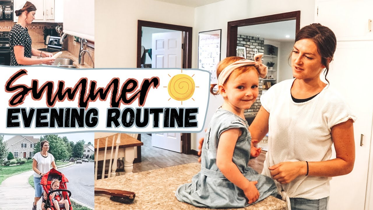 An Evening in the Life of a Mennonite Family | Summer Evening Routine