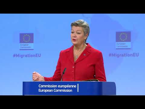 Vice-President Schinas And Commissioner Johansson On The The New Pact For Migration And Asylum