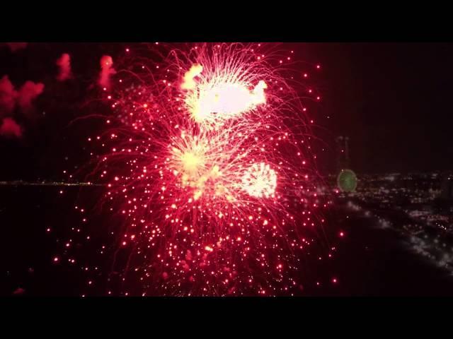 【公式】The fireworks of Rinku Izumisano,Osaka 2014. エンジョイりんくう花火2014
