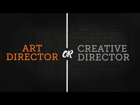 Difference Between An Art Director & Creative Director
