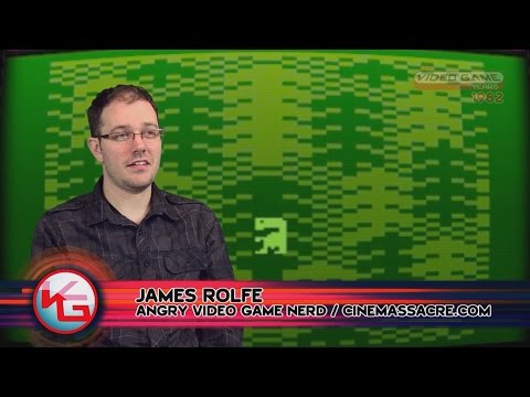 E.T. (Atari 2600, 1982) Feat. James Rolfe - Video Game Years History
