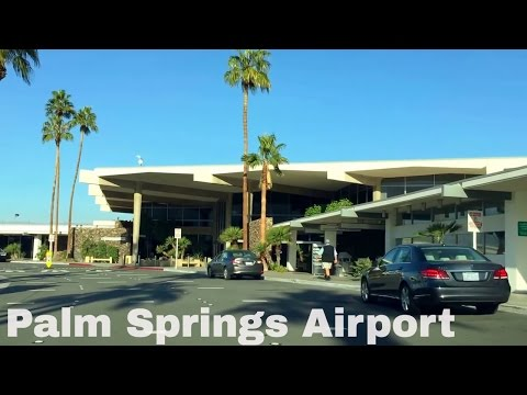 🔴 Palm Springs (PSP) California Airport Driving Directions 12 Minutes 🔴