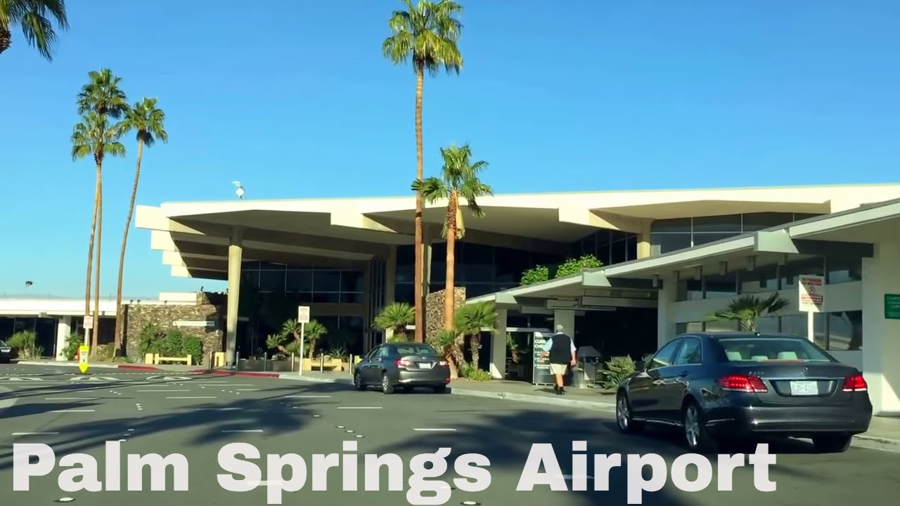 Palm springs airport arrivals