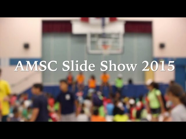 AMSC Slide Show 2015